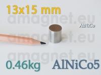 AlNiCo magnet - Cilynder 13x15mm [alnico5]