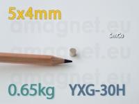 SmCo magnet - Ketas 5x4mm [YXG-30H]