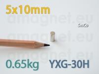 SmCo magnet - Silinder 5x10mm [YXG-30H]